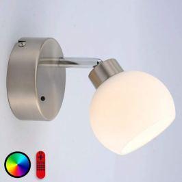 Mit versch. Lichtfarben - LED-Wandlampe Lola-Lotta
