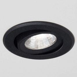 Agon Round LED-Einbaustrahler 3.000K 40° schwarz