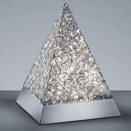 Pyramidenförmige RGBW-LED-Tischleuchte Paul m. FB