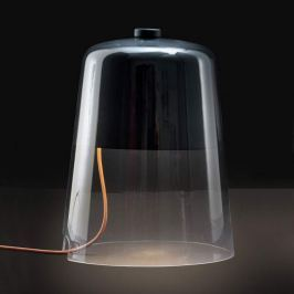 Oluce Semplice - dimmbare Tischleuchte, schwarz