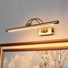 LED-Bilderlampe Vincenza in Altmessing