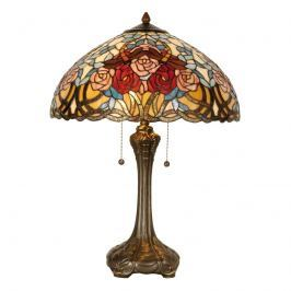 Florale Tischleuchte Scarlett im Tiffany-Stil