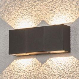 4-flammige LED-Außenwandlampe Jani