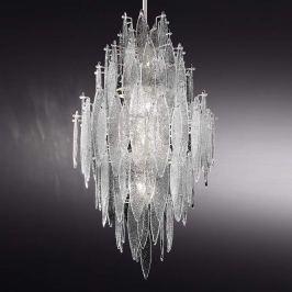 Magische LED-Hängeleuchte Ice Rain