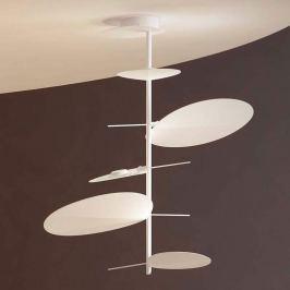 Filigrane LED-Hängeleuchte Obs mit 5 Schirmen