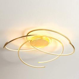 Escale Space - LED-Deckenlampe, 80 cm, Blattgold