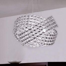 Kristall- Pendelleuchte DIAMANTE