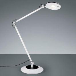 Gelenkige LED-Tischlampe Roderic in Weiß