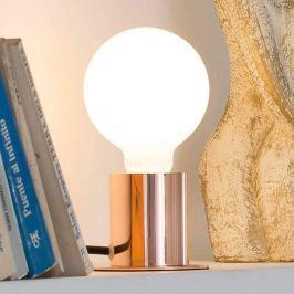 Ten - minimalistische Tischlampe in Kupfer