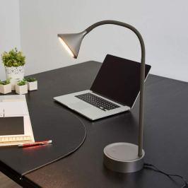 Verstellbare LED-Tischlampe Ellister m. USB-Port