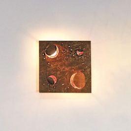 Knikerboker Buchi LED-Wandleuchte Buchi in Kupfer
