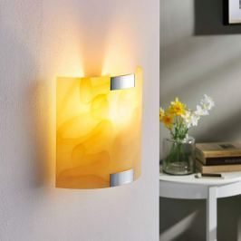Quentin - LED-Wandlampe, amberfarben