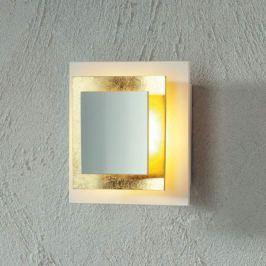 Escale Pages - Blattgold-LED-Wandleuchte 14 cm