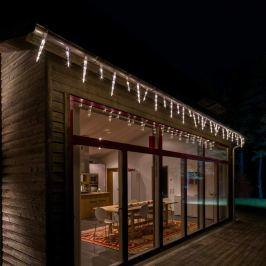 Strahlend schöne Eiszapfen-Lichterkette LED 96-flg