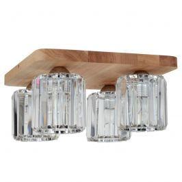 Jorunn - Deckenleuchte mit vier Glasschirmen