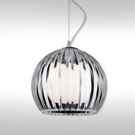 Transparente Hängeleuchte Mandina - 30 cm