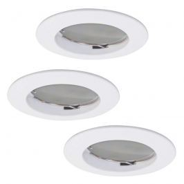 3er-Set LED-Einbauspot Downlight DIM Flat weiß