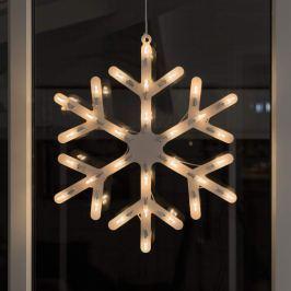 Fensterdekoration Schneeflocke mit LED