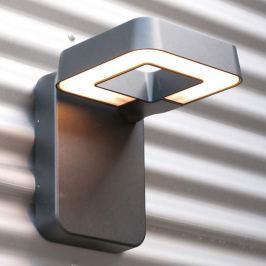 Verstellbare LED-Außenwandleuchte Square