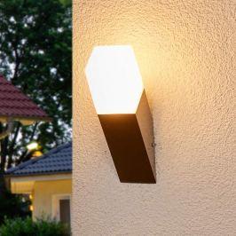 Eckige LED-Wandfackel Barbara für außen