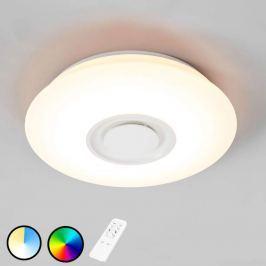 RGB-LED-Deckenlampe Elya mit Lautsprecher