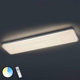 Dimmbare LED-Deckenleuchte Kyoto mit Fernbedienung