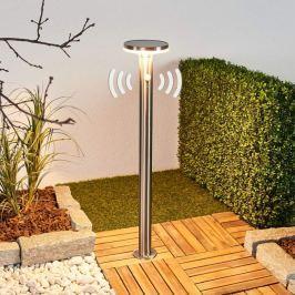Solar-LED-Wegeleuchte Eliano mit Sensor