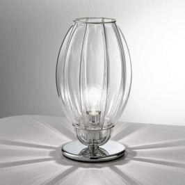 Nautilus-Tischleuchte, transparent