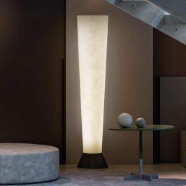Schirm aus Glasfaser - LED-Stehleuchte Elios weiß