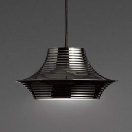 Bover Tibeta 03 - LED-Hängelampe in Chrom-Schwarz