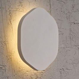 Silberfarbige LED-Wandlampe Bora Bora