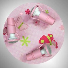 Verstellbare Kindezimmer-Deckenleuchte Papillon