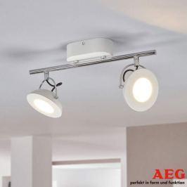 AEG Letora - weißer LED-Strahler mit zwei Spots