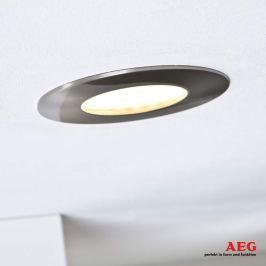 AEG Orbita LED-Einbaustrahler 3er-Set, nickel matt
