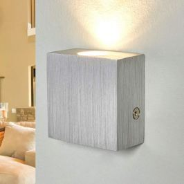 Aluminium-Wandleuchte Gordon mit LED