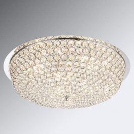 Kristall-Deckenleuchte Emilia mit LED-Lampen