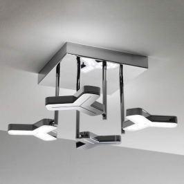 Topmoderne LED-Deckenleuchte Newmox 4-flg.