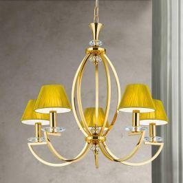 Luxuriöser Kronleuchter Avala in glänzendem Gold