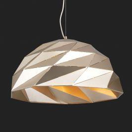 Goldfarbene Hängelampe Origami Ø 56 cm