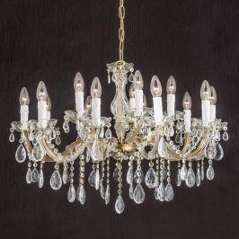 Stilvoller Kronleuchter DOLORES mit Kristallen