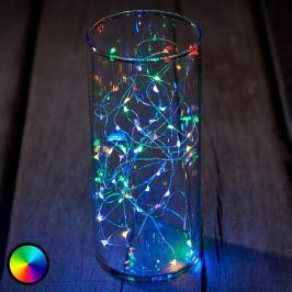 LED-Lichterkette Knirke multi 40-flg.