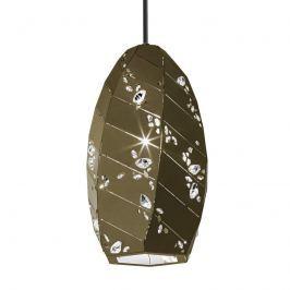 Swarovski Apta - Kristall-Hängeleuchte bronze-gold