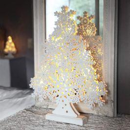 45 cm hoher LED-Fensterleuchter Winterbaum