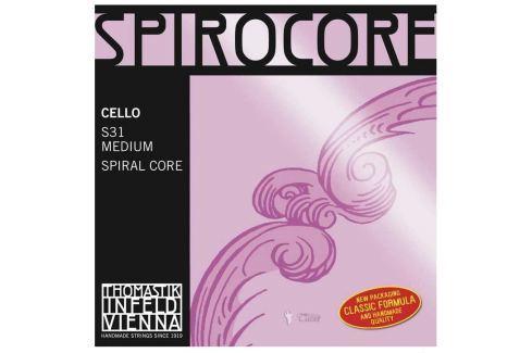 Thomastik THS31 SPIROCORE Cello String Set 4/4