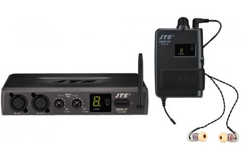 JTS SIEM-2/2 In-Ear Monitoring System