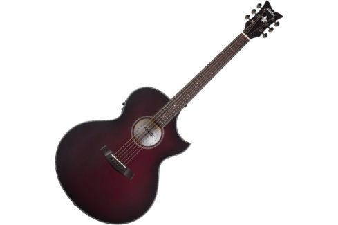 Schecter Orleans Stage Acoustic Vampyre Red Burst Satin
