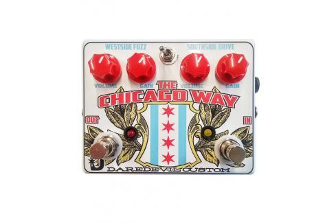 Daredevil Pedals the Chicago Way Overdrive Fuzz