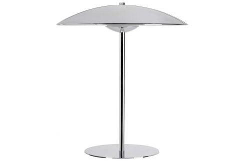 Glänzend verchromte LED-Tischlampe Romy