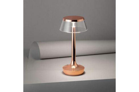 FLOS Bon Jour unplugged LED-Tischlampe, kupfer