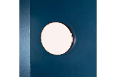 FLOS Clara - LED-Deckenleuchte mit Kupferring